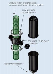 PP материала 3 T тип сетчатый фильтр для сада ирригационных систем