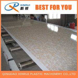 Strato di marmo d'imitazione del PVC che fa macchina