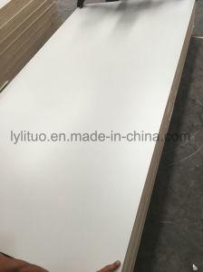 Placa Base de buena calidad de la melamina, madera contrachapada frente