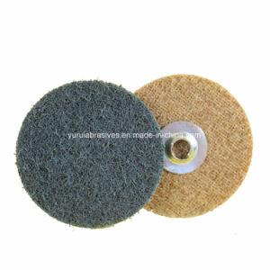 Non-Wovenディスク粉砕の磨く車輪のステンレス鋼の磨く車輪