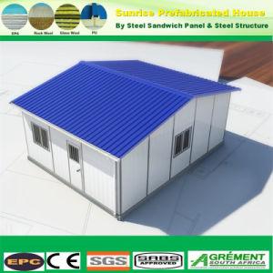Bajo costo de la estructura de Panel Sandwich acero prefabricados prefabricados Casas Prefabricadas