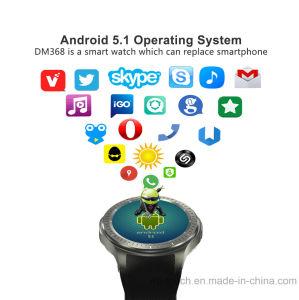 3G WCDMA IPSスクリーンのスマートな腕時計の電話Dm368
