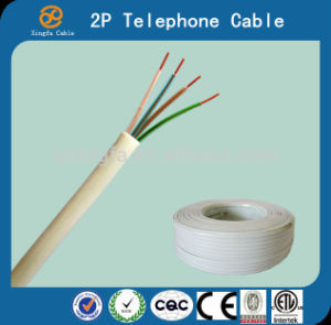 4c Jacket PVC Outdoor Telephone Cable