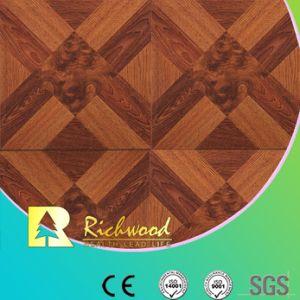 Ménage E0 HDF 12.3mm AC4 Maple absorbant le son revêtement de sol stratifié