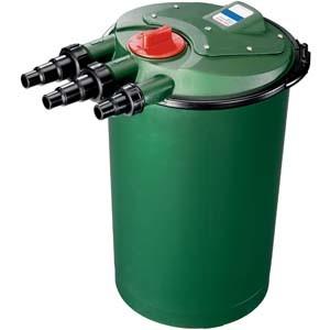 Sistema del filtro da trattamento delle acque dello stagno di pesci