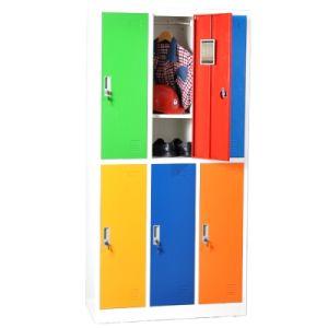 6 de Kast van het Metaal van de Garderobe van de Kasten van het Staal van de deur voor Federale Gebouwen, Correctionele Faciliteiten, Gerechtsgebouwen en Ondernemingen
