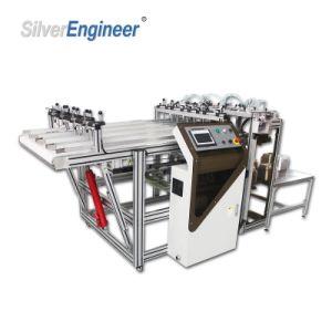 Автоматическое контейнер из алюминиевой фольги перфорирование машины