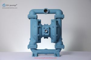Luft-Membranpumpe, Membranvakuumpumpe, pneumatische doppelte Membranpumpe