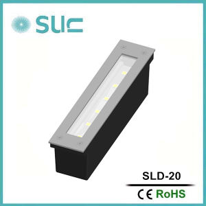 1.2W Brass Recessed Underground LED LightのLEDの庭Lights (SLD-14)