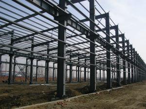 가벼운 강철 구조물 조립식 가옥 창고