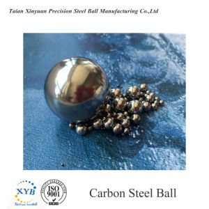 Esfera de aço carbono 5.5562mm 7/32 polegada G28-G1000 polido de superfície