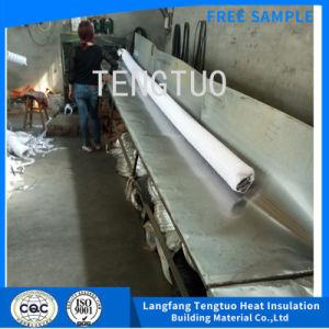 Mangueira flexível de PVC branco com folha de alumínio