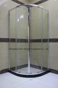 Banheiro 6mm Quadrant Door Shower Enclosure Shower Room