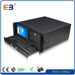 LCD 스크린을%s 가진 ATX 전력 공급을%s 4u ATX 케이스