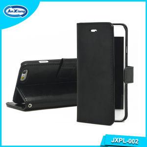 iPhone 6のための最も売れ行きの良いFlip Leather Wallet Mobile Phone Case