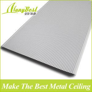 2018 insonorisées plafond linéaires en aluminium
