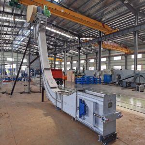 Вертикальный корпус из нержавеющей стали 304/316/253Ма перетащите цепной конвейер для групповой обработки материалов оборудования системы
