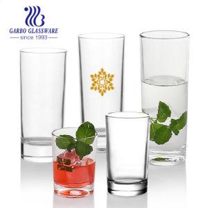 Verres Highball attrayant clair base lourde pour de grands verres à bière [Set de 10] des verres à boire pour l'eau, jus de fruits, de la bière, vin et cocktails01107010 8 oz (GO)