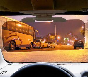 Il popolare UV anabbagliante dello specchio di azionamento degli occhiali di protezione di abbagliamento della visiera di Sun dell'automobile di notte di giorno di alta qualità HD lancia giù HD per la visiera di vista libera