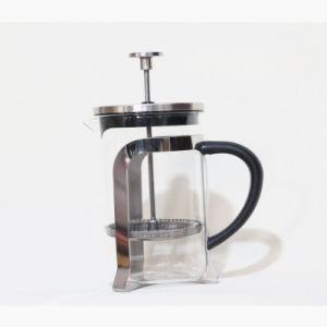 Panela de Pressão do método de vidro borossilicato de alta Punção Manual Pot para preparar chá e café filtro Pot