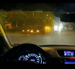 Il popolare UV anabbagliante dello specchio di azionamento degli occhiali di protezione di abbagliamento della visiera di Sun dell'automobile di notte di giorno degli accessori dell'automobile HD lancia giù HD per la visiera di vista libera