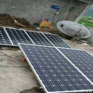 220V de onda senoidal pura inversor fuera de la red de respaldo de batería generadora de energía Solar Panel System