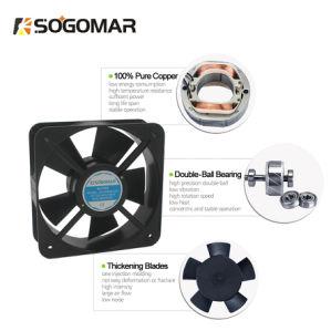 Ventilator van uitstekende kwaliteit 200X200X60mm van de Ventilator met 5 Plastic Bladen