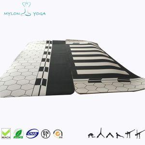 Полный размер шелк трафаретной печати йога коврик