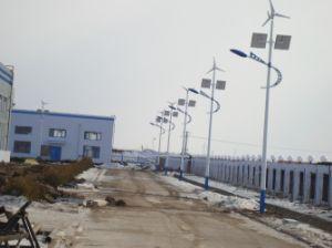 comitato solare di 200W 240W con l'indicatore luminoso di via ibrido solare del vento chiaro della via LED del mulino a vento