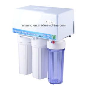 Filtro da acqua delle 5 fasi con il sistema di osmosi d'inversione di caso della prova della polvere