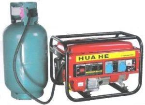 Generator de Voor dubbel gebruik van de benzine en van het Gas