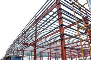 Estructura de acero Prefabricate de bajo coste para el almacén (SP-012)