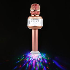 E106 Микрофон караоке, поддержка USB MP3 и USB-диско лампы