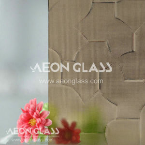 3mm, 3.5mm, 4mm, 5mm, 6mm en 8mm Patterned Glass, Figured Glass, Bronze Karatachi Glass