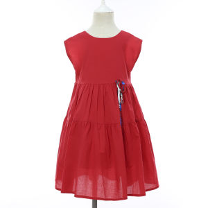 494f655e3 Nuevo 2019 Primavera Verano del 100% algodón suave de la moda ropa de playa  caliente vestido para bebé niño bebé