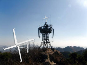 Anstellen Wind-der Turbinen Ms1-2000 der Drehkraft-0.1m/S