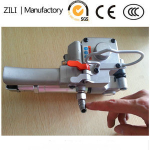 Plastic Riem Pneumatische PP/Pet die de Hand vastbinden die van de Lucht van het Hulpmiddel Machine vastbinden