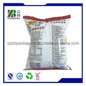 Custom печать назад запечатанный пластиковый мешок для упаковки