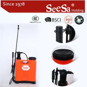 22Lナップザックまたはバックパック手動手圧力農業のスプレーヤー(SX-LK22C)