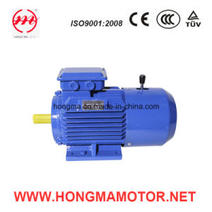 Motor eléctrico trifásico 100L-8-1.1 de Indunction del freno magnético de Hmej (C.C.) electro