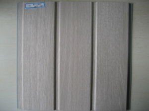 Rainures triple panneau laminé PVC (F230)