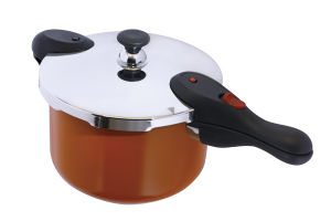 2016 80kpa圧力の熱い販売のセラミックコーティングのステンレス鋼の圧力鍋