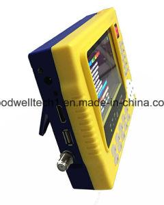 Saída de 12,5 V CC 4.3 Localizador de Satélite Digital Medidor com saída HDMI