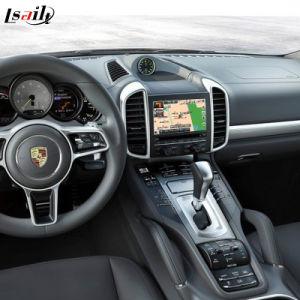 Aufsteigen-Multimedia-androider Schnittstelle GPS-Nautiker für Porsche Cayennepfeffer PCM3.1