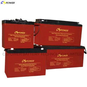 Cspowerの光起電200ah 12Vのための高温ゲル電池