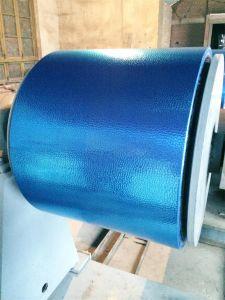 Il colore ha ricoperto lo strato di alluminio impresso pietra del martello per la decorazione