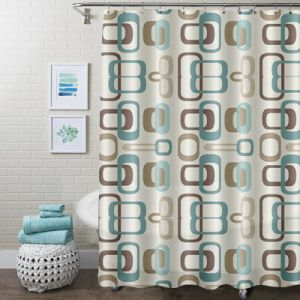 Non Toxic Water Repellent Mildew Resistant polyester Wholesale Shower Curtain