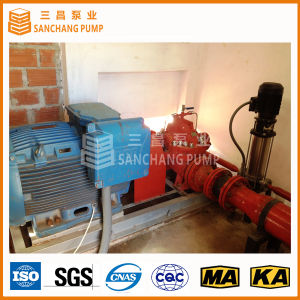 UL/Nfpa Standard-aufgeteilte Fall-Pumpe für Feuerbekämpfung (500GPM 60-100m)