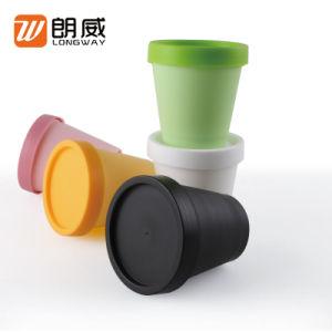 Venta caliente 200g de Mascarilla facial de Plástico PP Cosmeitc Jar para embalajes en stock