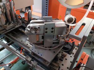Caja de papel rígido automática Máquina de pegado de la esquina de China